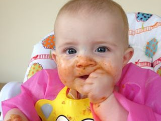 How Messy Is Baby Led Weaning Really?