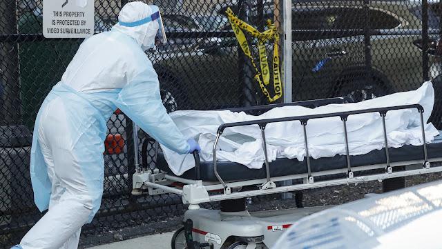 Nueva York vuelve a batir el récord de muertes por coronavirus en una jornada con 799 fallecidos