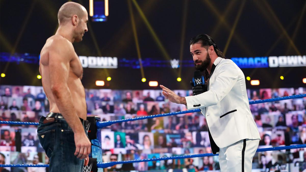 """Seth Rollins vs. Cesaro"" tem início no Friday Night SmackDown"