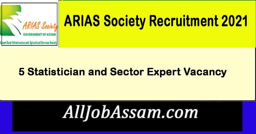 ARIAS Society Recruitment 2021