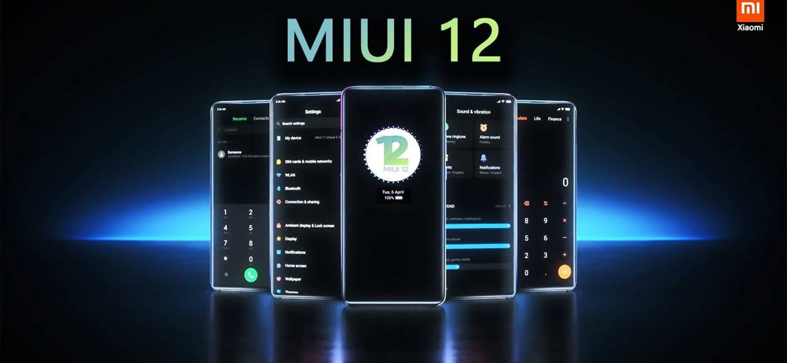 MiUI 12 Global Launch Begins, Coming to 47 Devices
