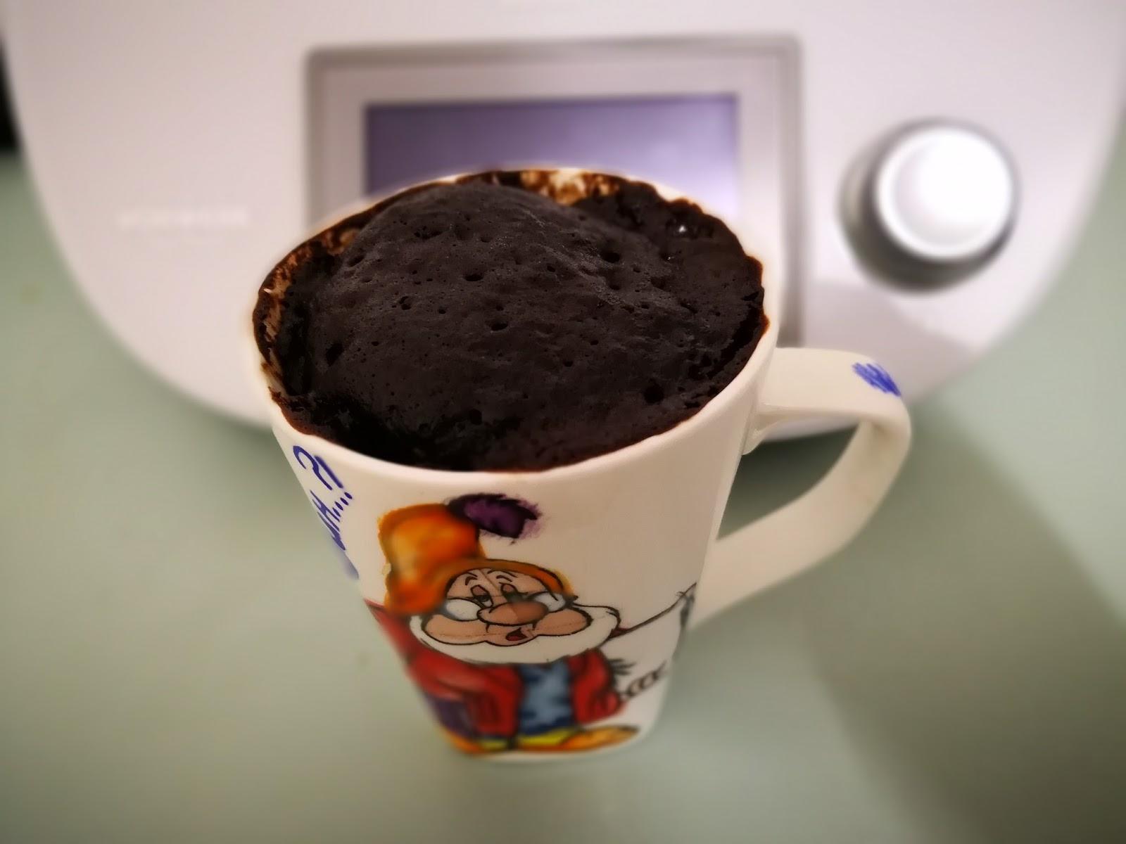 Mug Cake al cioccolato fondente extra dark