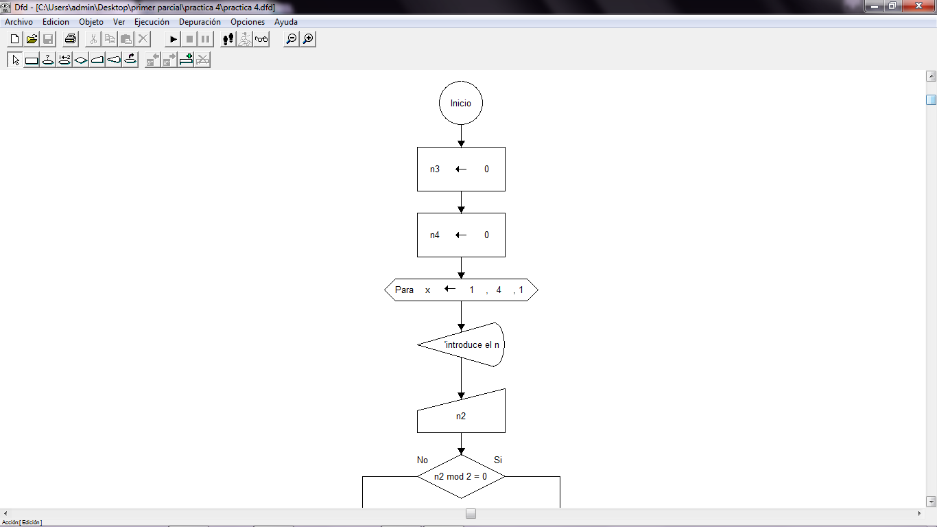 Freddy delgado suma de numeros pares e impares diagrama de flujo suma de numeros pares e impares diagrama de flujo practica 4 dfd ccuart Gallery