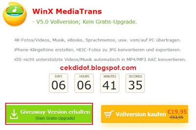 Download Gratis WinX MediaTrans Full Version Activation Code