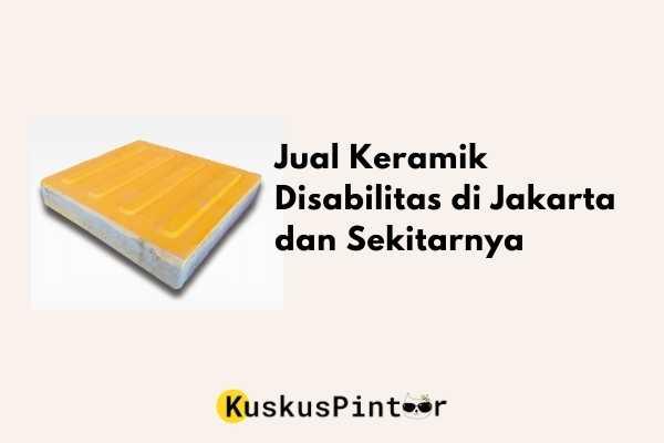 Jual Keramik Disabilitas di Jakarta