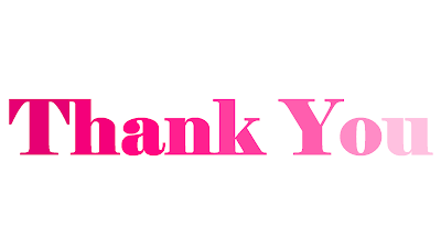 High Resolution PNG Image of Thank You, Thank You Image