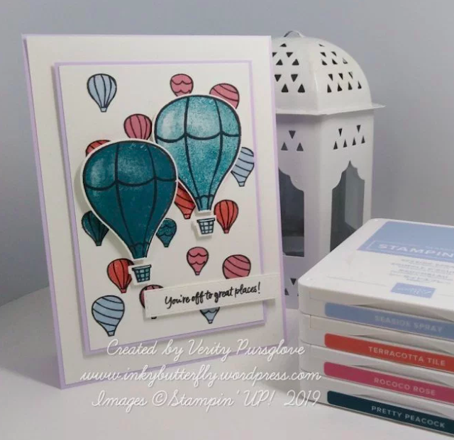 Nigezza Creates With Stampin' Up! friends Inkybutterfly using Above the clouds