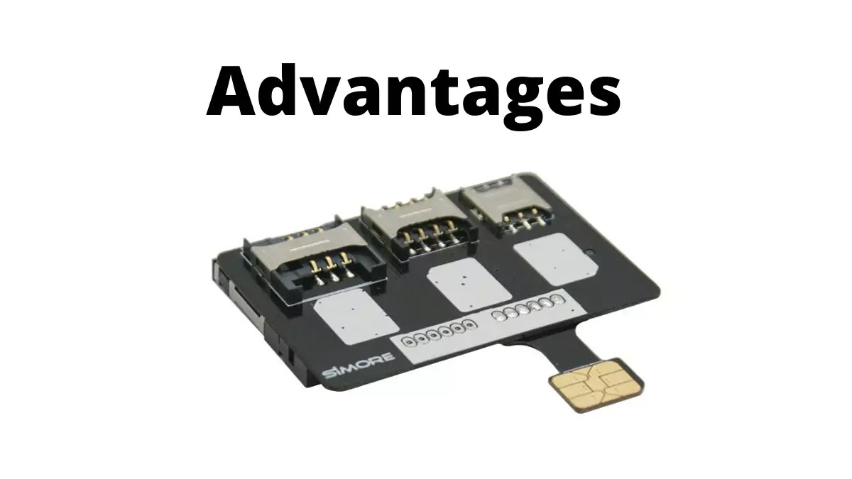 advantages Hybrid Sim Slot