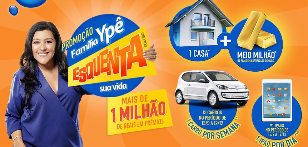 """Promoção """"Família Ypê Esquenta Sua Vida"""""""