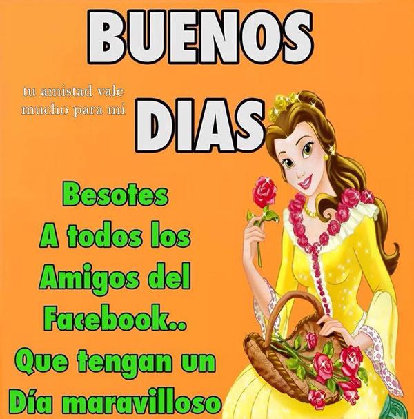 BUENOS DÍAS Amigos Facebook