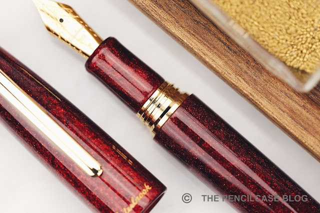 REVIEW: ESTERBROOK ESTIE SPARKLE OVERSIZED FOUNTAIN PEN