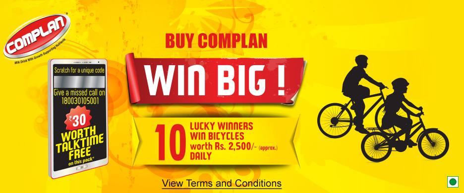Buy Complan And Win 10 Winner Daily Bicycles Worth Rs 2500