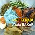 Nasi Kerabu Ayam Bakar Madu dan Gulai Kawah Pantai Timur Di Restoran Senyum Sokmo GM Klang