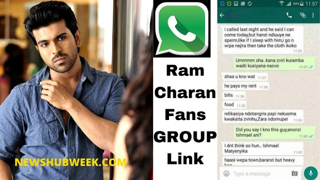 Join 16+ Ram Charan Fans Whatsapp Group Link Latest Update