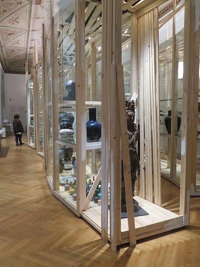Interior de la galería de Asia