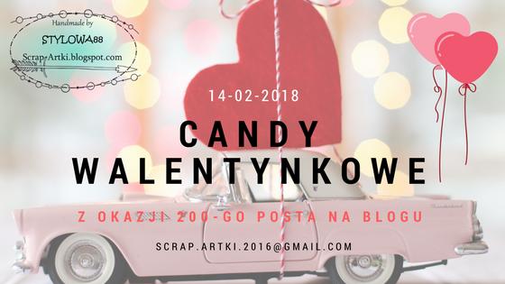Scrap-Artki Walentynkowe Candy
