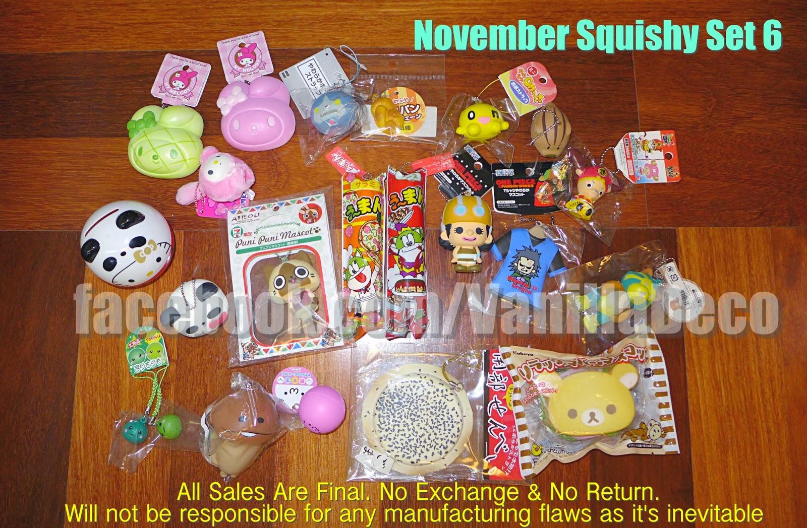 Squishy Haul Blog : Sue s Cutie Closet : Squishy Update: One Piece Luffy & Chopper Set, Chopper Man T-Shirt Set, Pom ...
