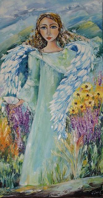 Anioł pięknych wspomnień _ obraz