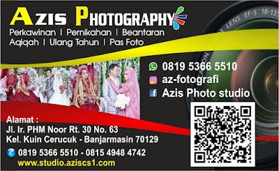 Kartu Nama Fotografer Banjarmasin