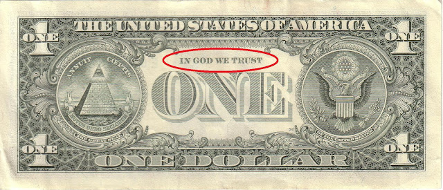 Banconota USA - In God we trust