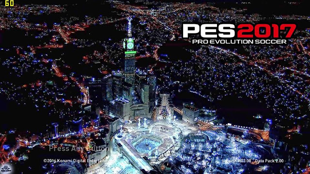 PES 2017 Mekkah Startscreen