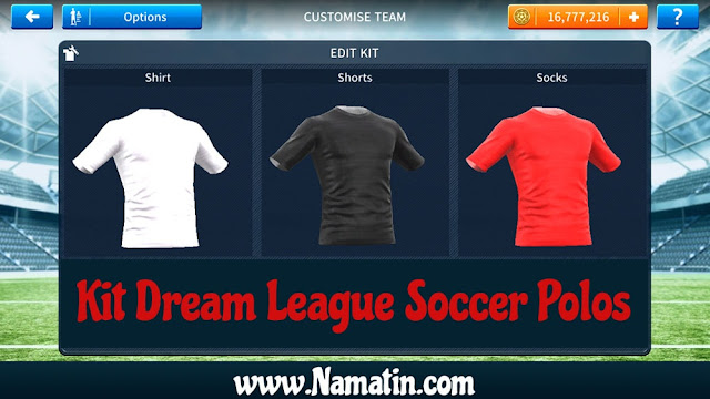 Kit Dream League Soccer Polos