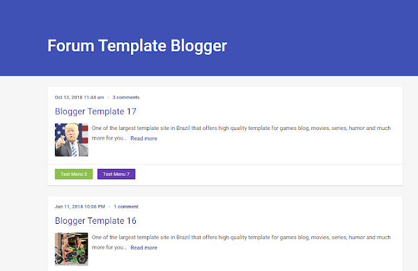 [Themeidn] Forum Pro Blogger Template