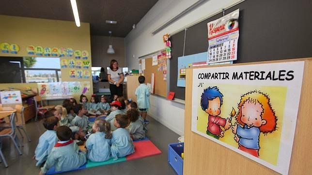Imagen de un aula