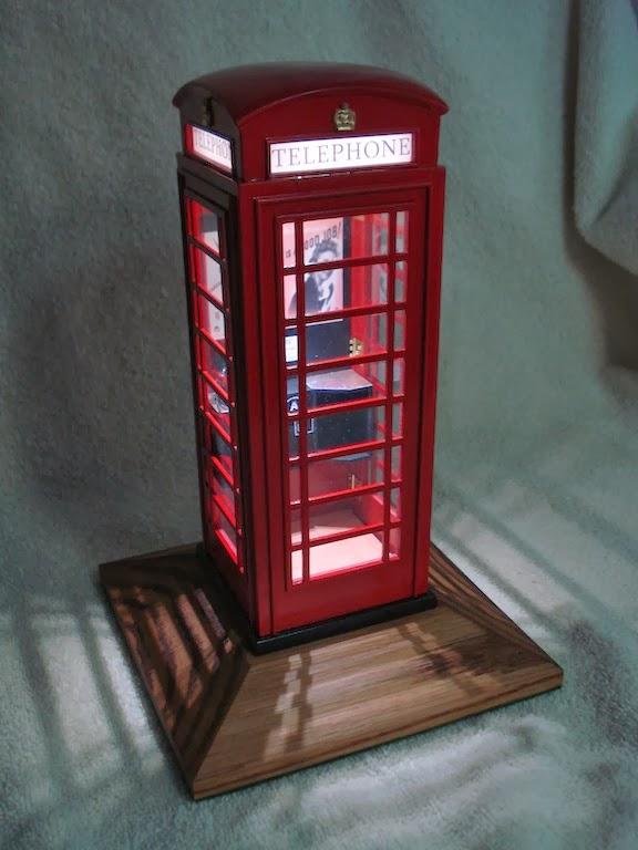 Scotts Workshop Notes British Phone Box Model