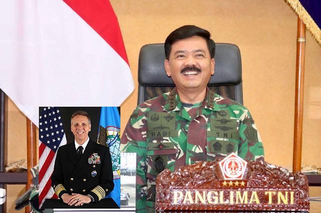 Panglima TNI dan Panglima USINDOPACOM Bahas Kerja Sama Militer