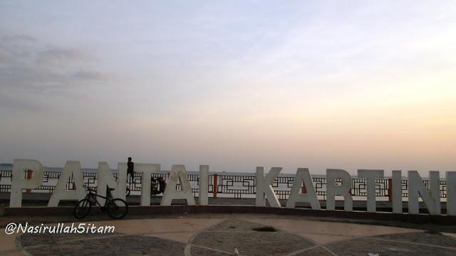 Landmark tulisan Pantai Kartini