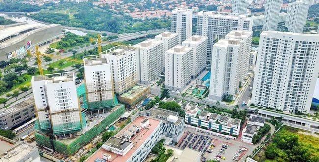 Giá căn hộ chung cư tiếp tục leo thang