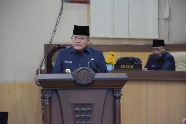 Bupati DRA Sampaikan Tanggapan Terhadap Pandangan Umum Fraksi DPRD