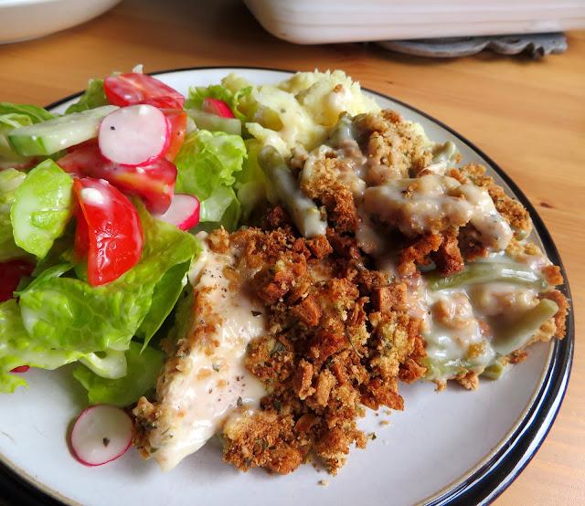 Chicken & Stuffing Casserole