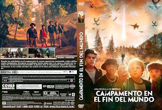 CARATULA CAMPAMENTO EN EL FIN DEL MUNDO- RIM OF THE WORLD 2019[COVER DVD]