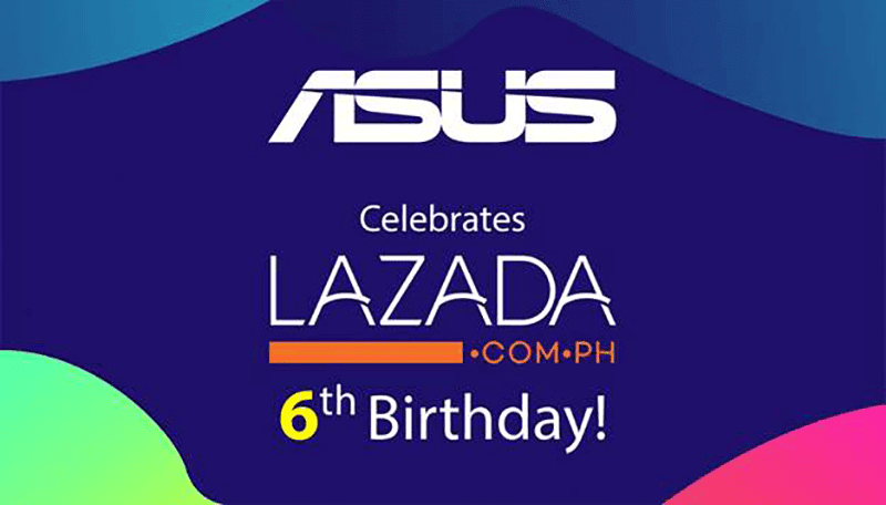 ASUS PH items at Lazada's 6th Birthday Sale