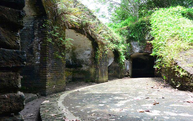 Benteng Pertahanan di lokasi Benteng Pendem Cilacap