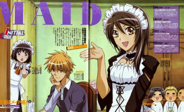 Kaichou wa Maid-Sama - Daftar Anime Buatan Studio J.C.Staff Terbaik