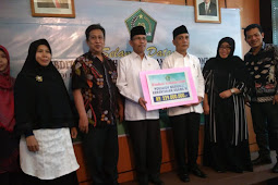 Penyuluh se-Indonesia Serahkan Bantuan Korban Gempa Lombok