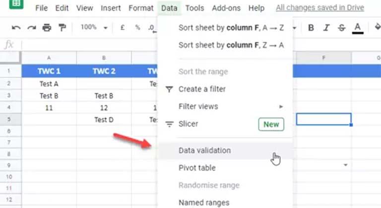 Cara Membuat Daftar Drop-Down Di Excel Dan Google Sheets