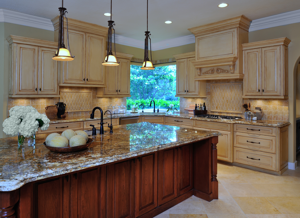 Gorgeous Kitchen Renovation In Potomac Maryland: Design In The Woods: Traditional Kitchen Remodel