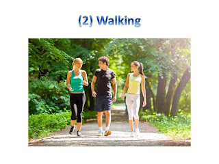 Walking - 5 Best exercise for belly fat at home