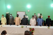 VC visits Abeokuta Study Centre, Obasanjo