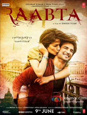 Raabta 2017 Hindi DVDRip 720p & 480p x264
