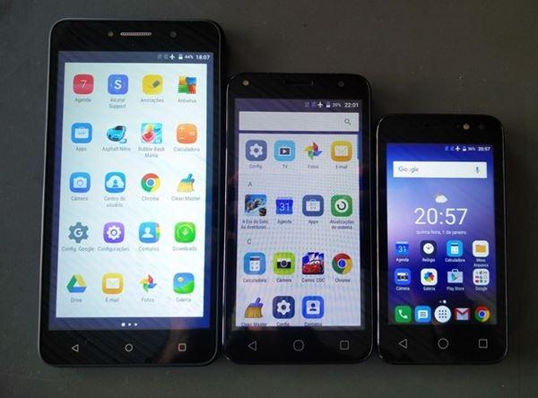 PIXI4, nova linha de smartphones da Alcatel