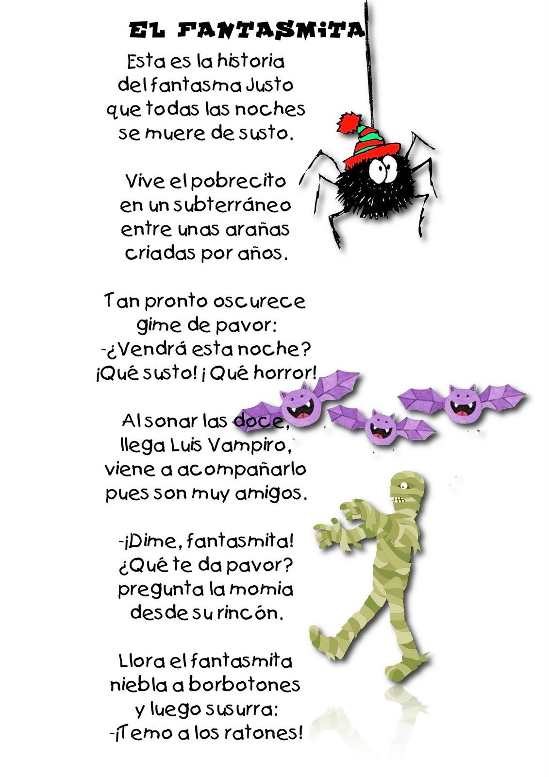 Poema Espanol Halloween