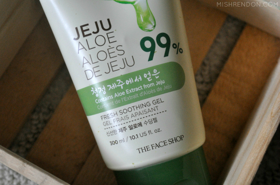 The Face Shop Jeju Aloe 99% Fresh Soothing Gel Review