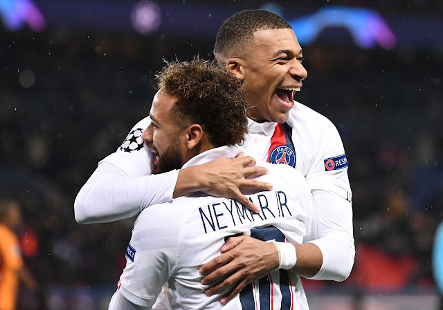 PSG duo Neymar and Mbappe