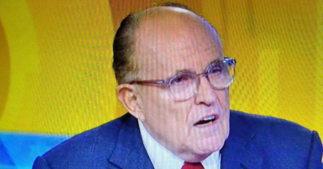 It hits the fan: Rudy Giuliani Shares His Ukraine Findings in Series of Tweets