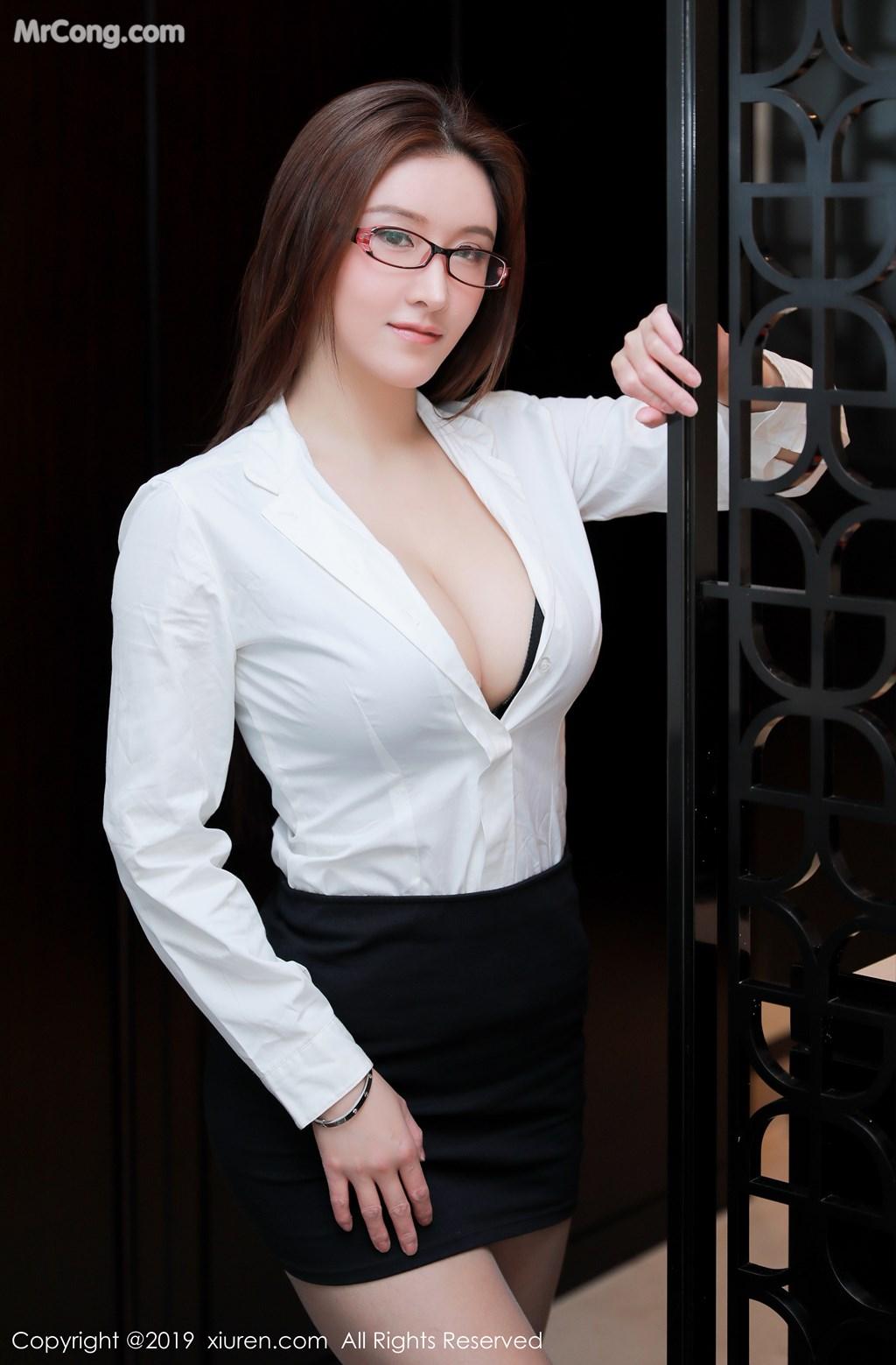 Image XIUREN-No.1457-Jenny-MrCong.com-004 in post XIUREN No.1457: 任莹樱 Jenny (46 ảnh)